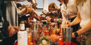 cocktail classes at the office Sydney